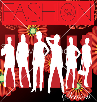 Free fashion cover vector - бесплатный vector #268609