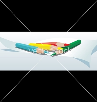 Free color pencils vector - бесплатный vector #268719