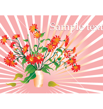 Free floral template vector - vector gratuit #268889