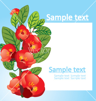 Free floral background vector - Kostenloses vector #268909