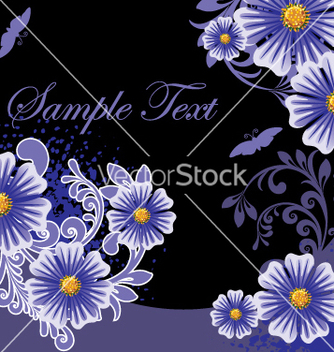 Free floral background vector - Kostenloses vector #269109