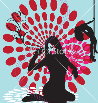 Free club dancers vector - Free vector #269239