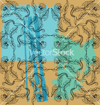 Free floral paint vector - Free vector #269289