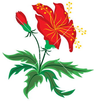 Free flower vector - Free vector #269379