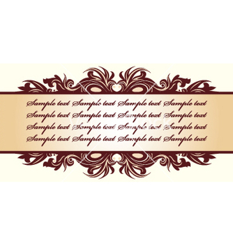 Free floral frame vector - Free vector #269489
