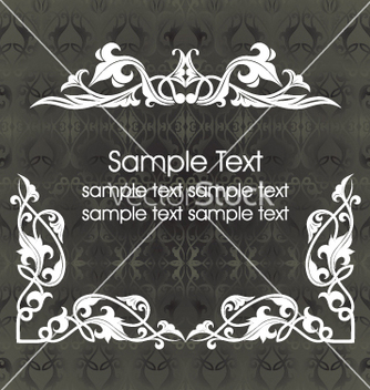 Free vintage frame vector - Free vector #269559