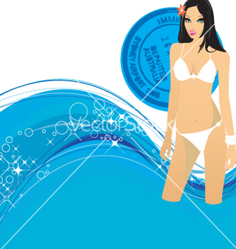 Free swimming vector - Free vector #269619