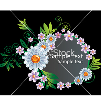 Free floral border vector - Free vector #269719