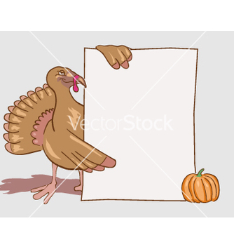 Free turkey invitation vector - vector gratuit #270099