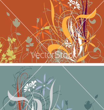 Free floral background vector - бесплатный vector #270119