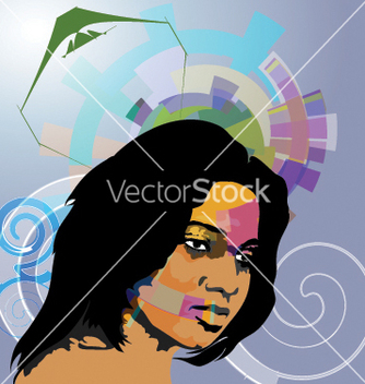 Free nice face vector - Free vector #270389