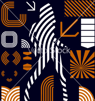 Free stripe graphic elements vector - vector gratuit #270399