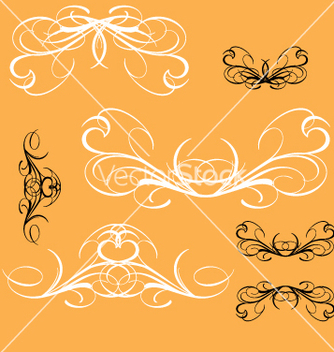 Free vintage decorative elements vector - vector #270529 gratis