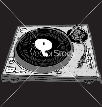 Free turntable vector - бесплатный vector #270759
