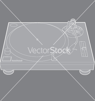 Free turntable vector - vector #270949 gratis