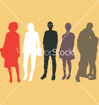 Free urban people vector - Free vector #270959