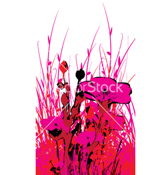 Free wild flowers vector - Free vector #270969