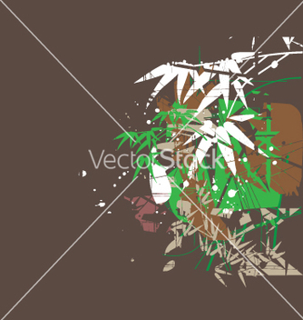 Free tropical jungel green vector - бесплатный vector #271009