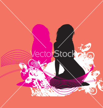 Free sexy silhouette vector - Free vector #271099