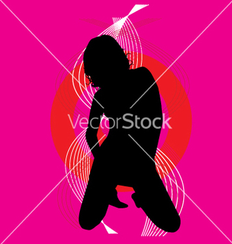 Free sexy silhouette vector - Free vector #271109