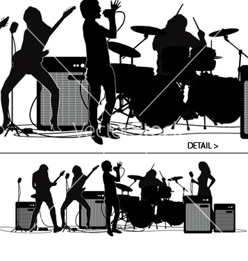 Vecteur libre rock and roll - vector gratuit #271119