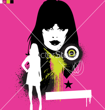 Free model pop grunge vector - Kostenloses vector #271179