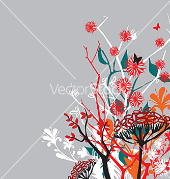 Free bouquet of flowers vector - Free vector #271349