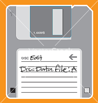 Free floppy disc vector - бесплатный vector #271389