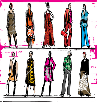 Free fashion vector - vector #271399 gratis