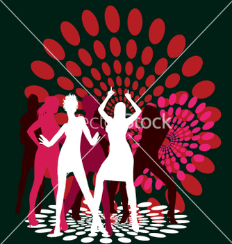 Free dance party vector - Kostenloses vector #271459