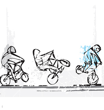 Free bmx freestyle vector - бесплатный vector #271519