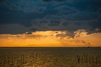 Sunset on sea - image #271809 gratis