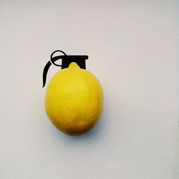 Grenade made of lemon - image #272209 gratis