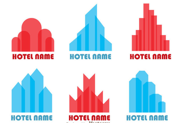Hotels Logo Vectors - бесплатный vector #272399