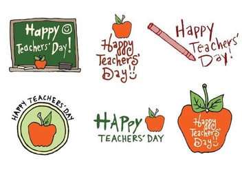 Free Teachers' Day Vector Series - Free vector #272709
