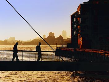 People on River Thames - Free image #272969