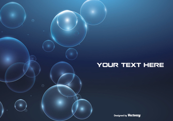 Abstract Bubble Background Illustration - Free vector #273289
