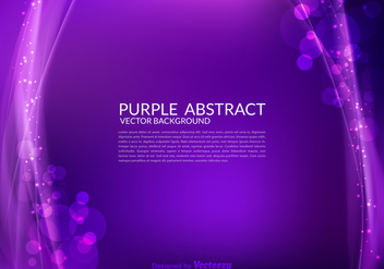 Free Purple Abstract Vector Background - бесплатный vector #274039