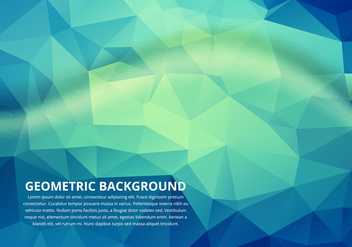 Free Vector Polygon Colorful Background - Free vector #274209