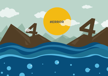 404 Not Found Vector - vector #274229 gratis