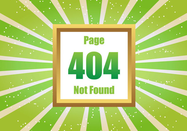 Free Green 404 Vector - Free vector #274299