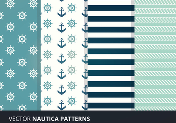 Seamless Patterns Vectors - Free vector #274419