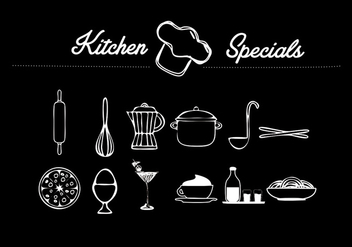 Kitchen Vector object - vector gratuit #274459