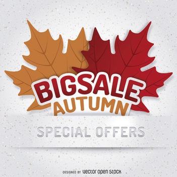 Autumn Sale logo - бесплатный vector #274519