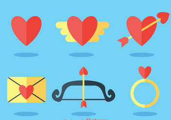 Love Flat Icons - Free vector #275249