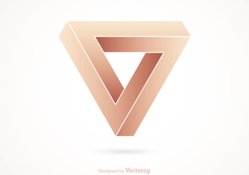 Free Impossible Triangle Vector Logo - vector gratuit #275269