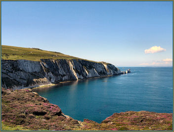 The Needles at Alum Bay. - бесплатный image #277319
