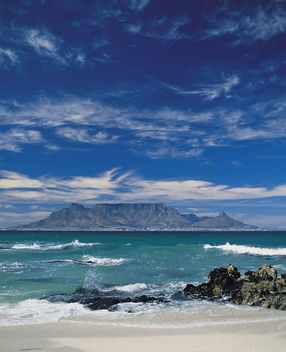 Table Mountain in the Mists - South Africa - Free image #278249