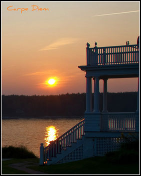 Sunset, Port Clyde Maine - Free image #280359
