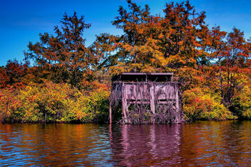 Finch Lake Fall Duck Blind - image gratuit #280489